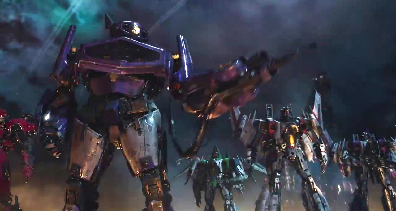 Bumblebee trailer Shockwave