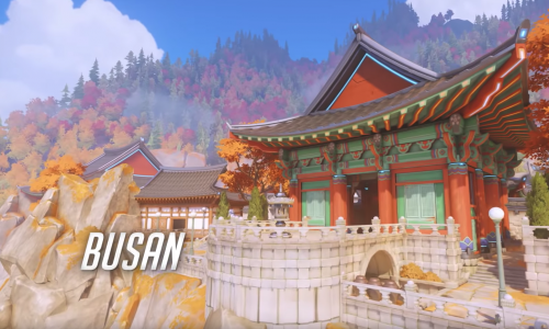Overwatch's new map, Busan, is now live