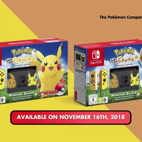Let's Go: Pikachu and Let's Go: Eevee Nintendo Switch bundle revealed