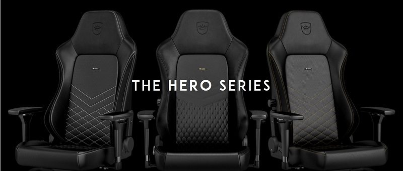 noblechairs hero review nerd reactor