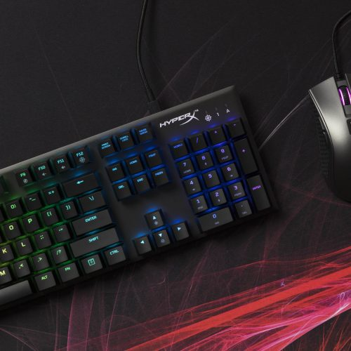 HyperX new Alloy FPS RGB gaming keyboard