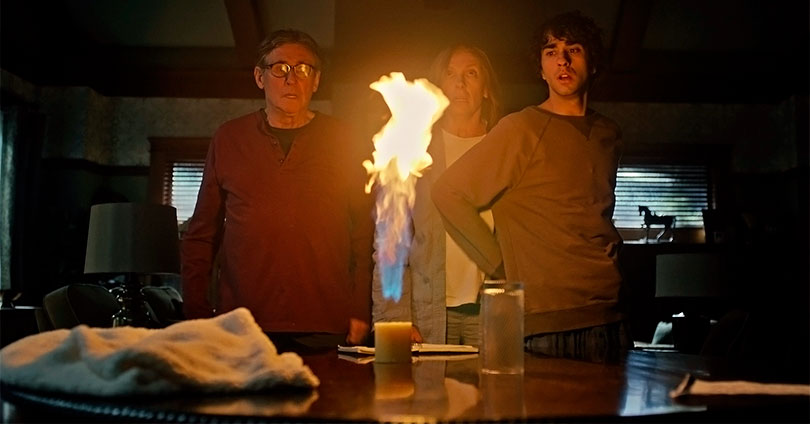 Hereditary - Gabriel Byrne, Toni Collette, and Alex Wolff