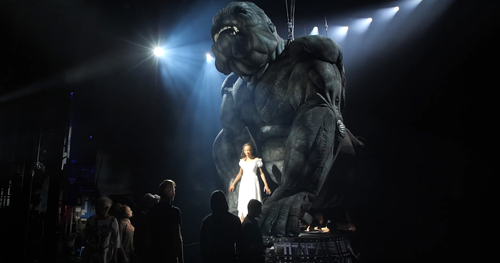 king kong broadway Christiani Pitts is Ann Darrow