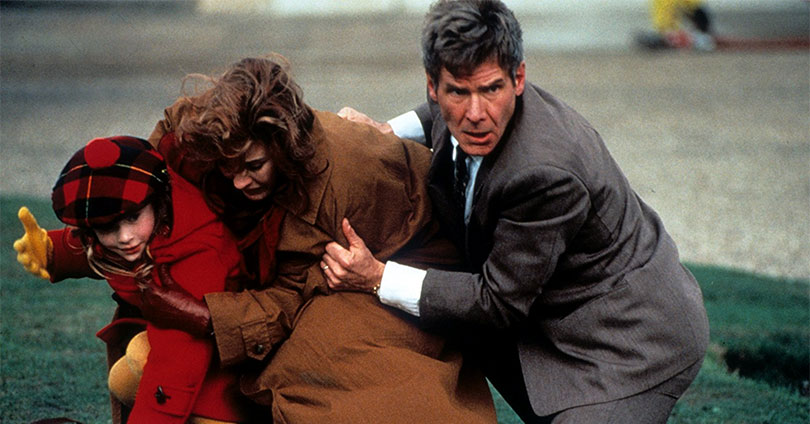 Patriot Games - Anne Archer and Harrison Ford