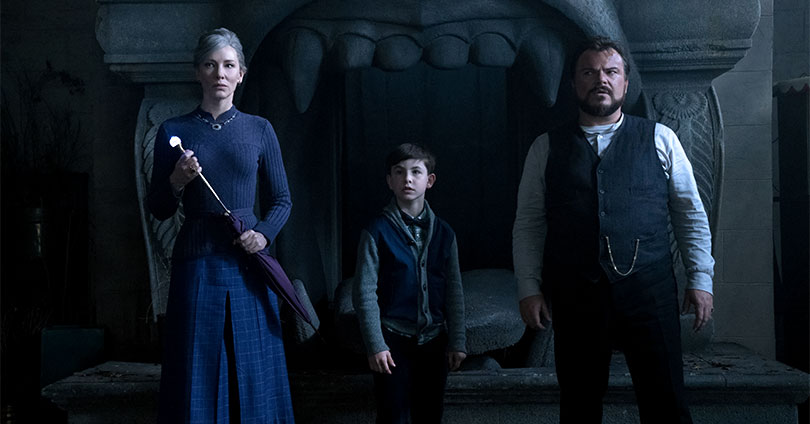 The House with a Clock in Its Walls - Cate Blanchett, Owen Vaccaro, & Jack Black