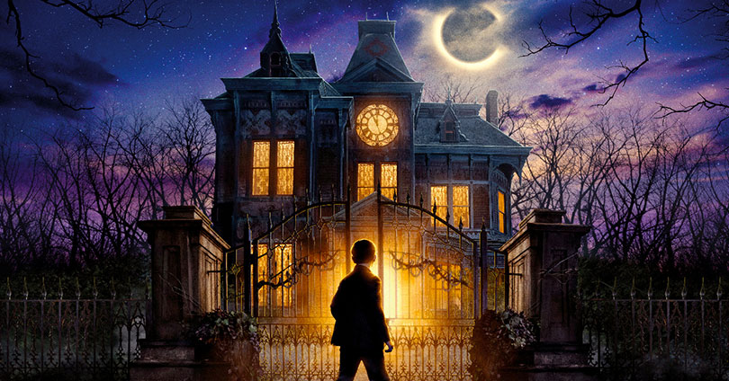 The House with a Clock in Its Walls Theatrical Poster