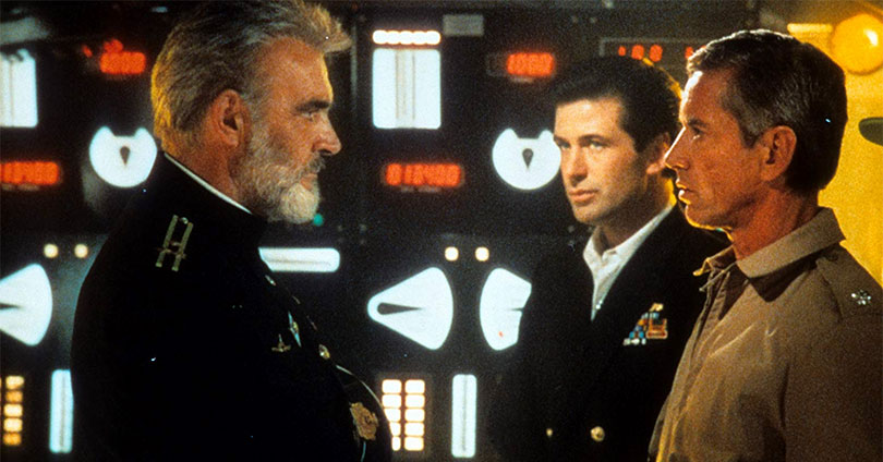 The Hunt for Red October - Sean Connery, Alec Baldwin, and Scott Glenn