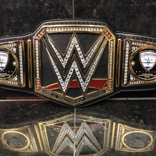 WWE gives London Spitfire title belt for Overwatch League Championship