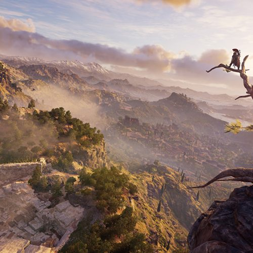 Assassin's Creed Odyssey's Exploration Mode allows you to breathe and enjoy the sights