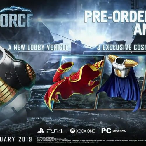 Jump Force pre-order bonus and collector's edition and release month
