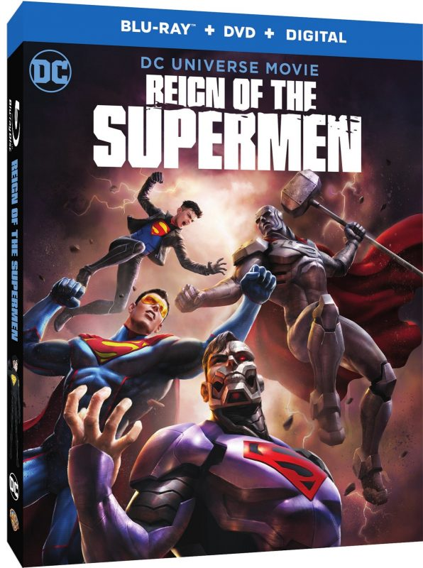 DC Universe Movie Reign of the Supermen