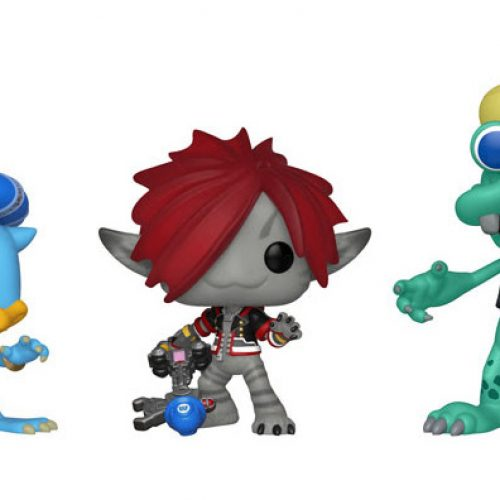 Funko's Kingdom Hearts III Pop Vinyl figures include Monster's Inc versions