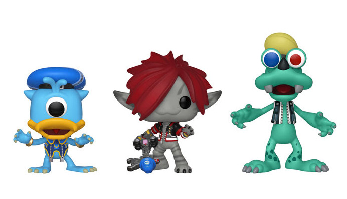 Kingdom Hearts III Funko pop vinyl monsters inc