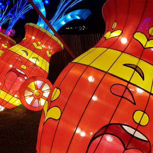 Moonlight Forest Festival shows off beautiful, giant lanterns at the Arboretum