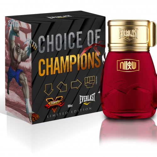 Everlast to release Street Fighter fragrances