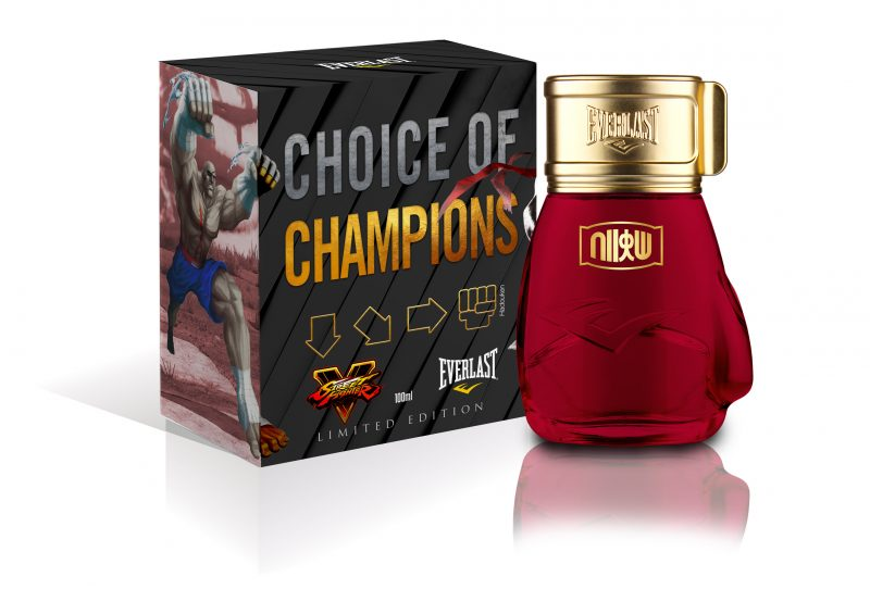 Everlast Choice of Champions Street Fighter fragrances