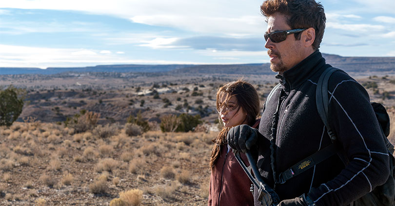 Sicario: Day of the Soldado - Isabela Moner & Benicio Del Toro
