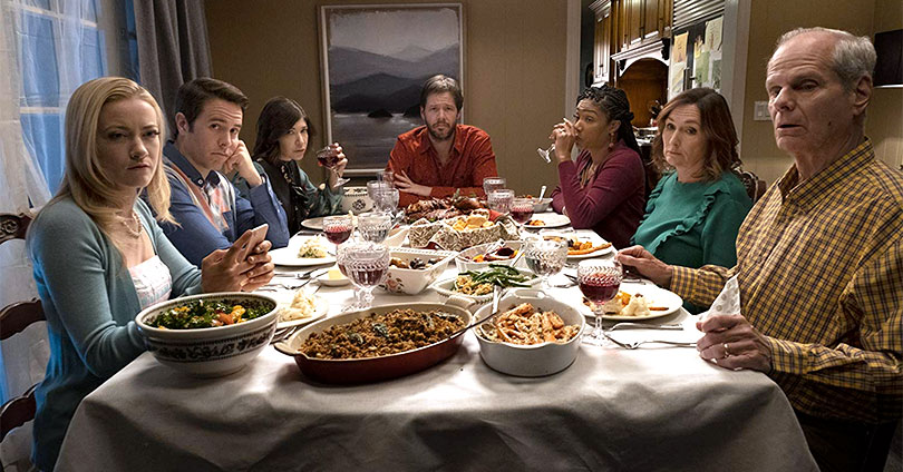 The Oath - 1 of 9 Nora Dunn, Ike Barinholtz, Chris Ellis, Carrie Brownstein, Tiffany Haddish, Jon Barinholtz, & Meredith Hagner