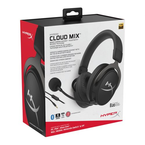 HyperX launches Cloud Mix, the on-the-go gaming Bluetooth headset