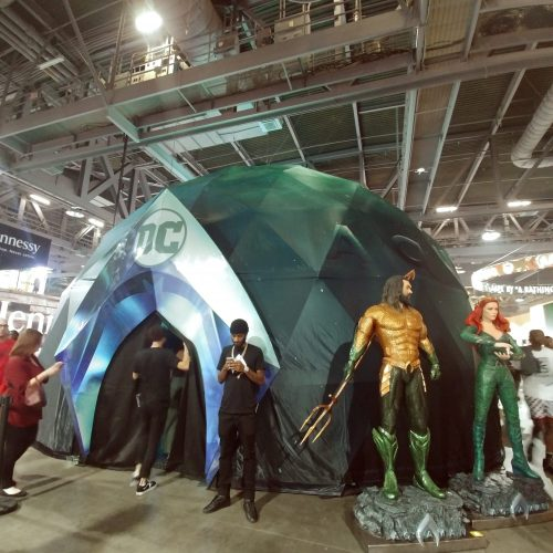 Aquaman splashes into ComplexCon with an immersive activation