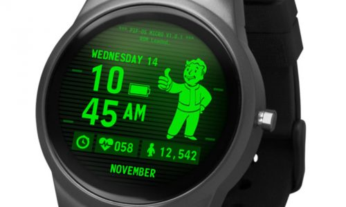 Bring the Pip-Boy wherever you go with the Fallout Smartwatch