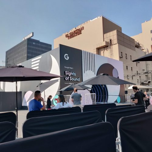 Google brings 'Sights of Sound' pop up to Los Angeles and other cities