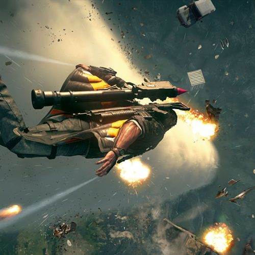 Hands-on with Just Cause 4: We flew a Zeppelin into a tornado