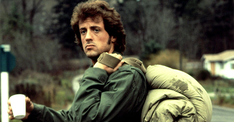 First Blood - Sylvester Stallone