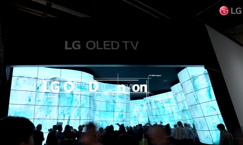 Lg To Showcase Rollable Oled Tv At Ces 2019 Nerd Reactor