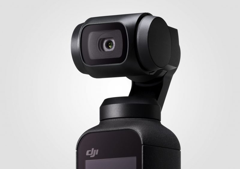 DJI announce the Osmo Pocket: a compact three-axis stabilised camera