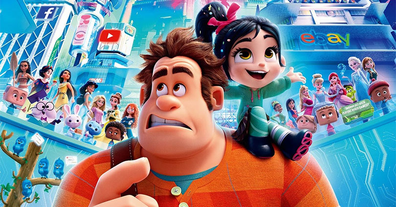 Ralph Breaks the Internet Japanese Poster