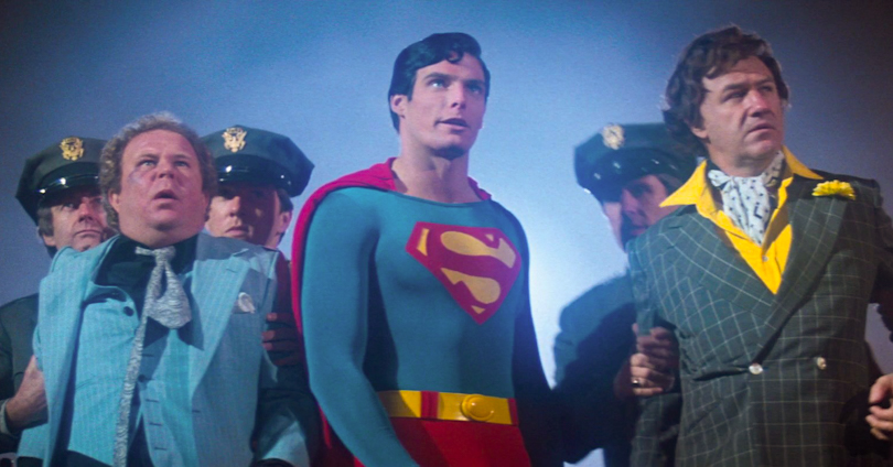 Superman: The Movie - Ned Beatty, Christopher Reeve, & Gene Hackman