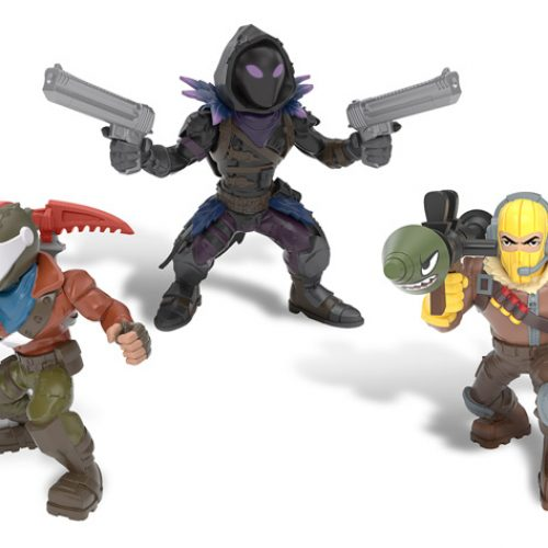 Fortnite Battle Royale Collection mini figures coming this December