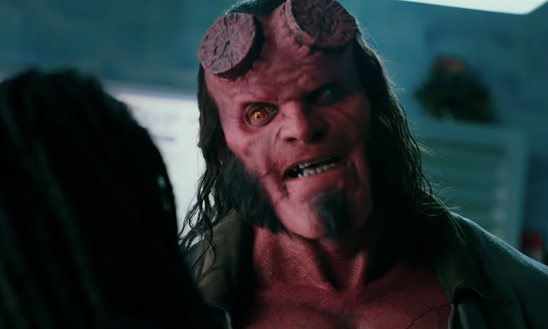Hellboy david harbour Hellboy reboot