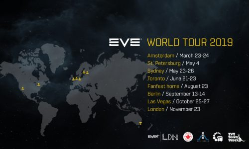 EVE World Tour 2019 includes Vegas, London, Amsterdam