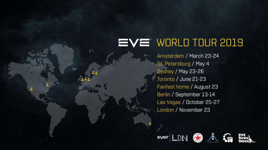 Eve Online World Tour 2019