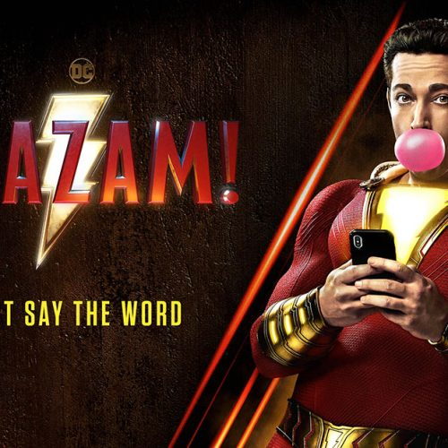 Zachary Levi is a kid at heart in new Shazam! poster