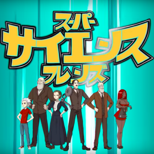 VRV launches anime-style episode of 'Super Science Friends'