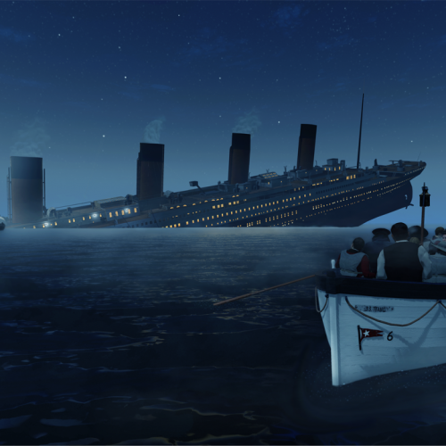 Experience the sinking Titanic with new VR game