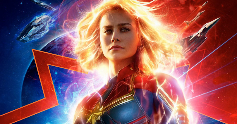 Captain Marvel trailer header