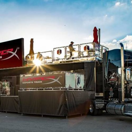 HyperX announces new mobile Esports Arena debuting at CES 2019