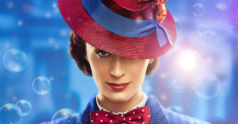 Mary Poppins Returns - Emily Blunt Character Poster