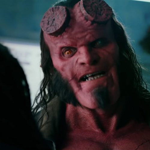 The Hellboy reboot will be rated R for strong bloody violence and gore
