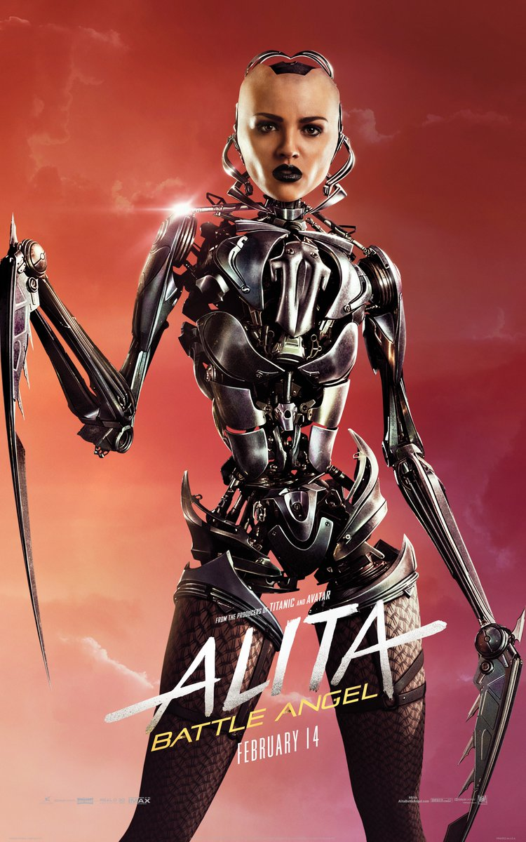 See the different cyborgs with Alita: Battle Angel character