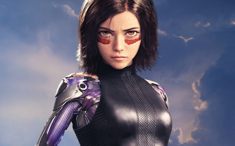 Alita Battle Angel Character poster thumb