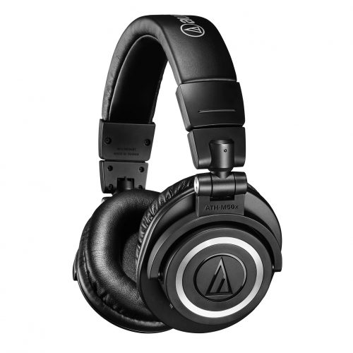 CES: Audio-Technica's ATH-M50xBT wireless over-ear headphones now available