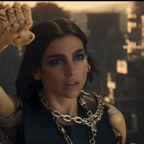 Watch Dua Lipa channel her inner Alita: Battle Angel with 'Swan Song'