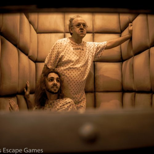 Psych Ward escape room sets itself apart from other rooms by pitting friends against friends