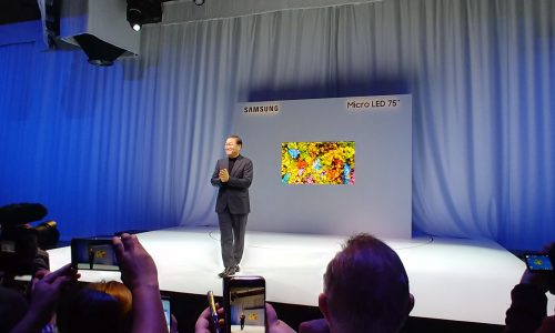 Samsung's CES 2019 shows MicroLED and gaming focus