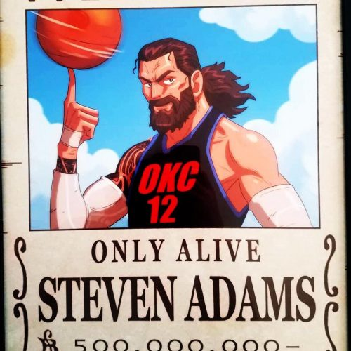 Crunchyroll campaigns for Steven Adams to make NBA All-Star team